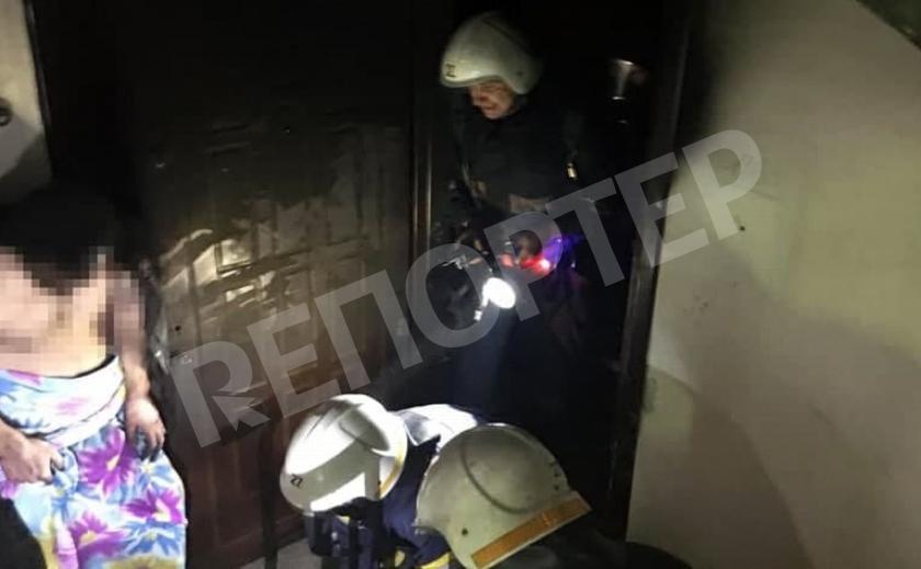 Пожарные спасли двоих жителей Павлограда