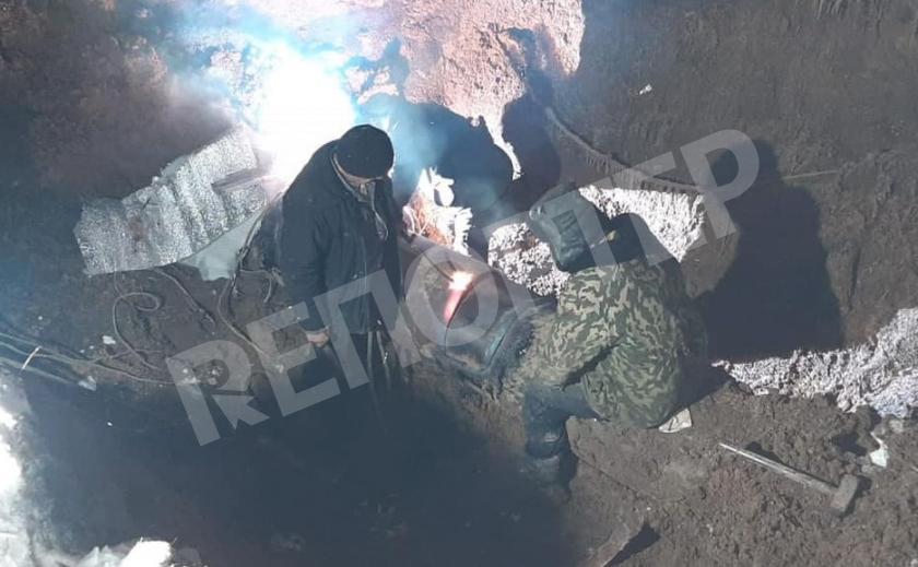 «Астанавитесь, шахтеры!» Водовод просит не копать под ним
