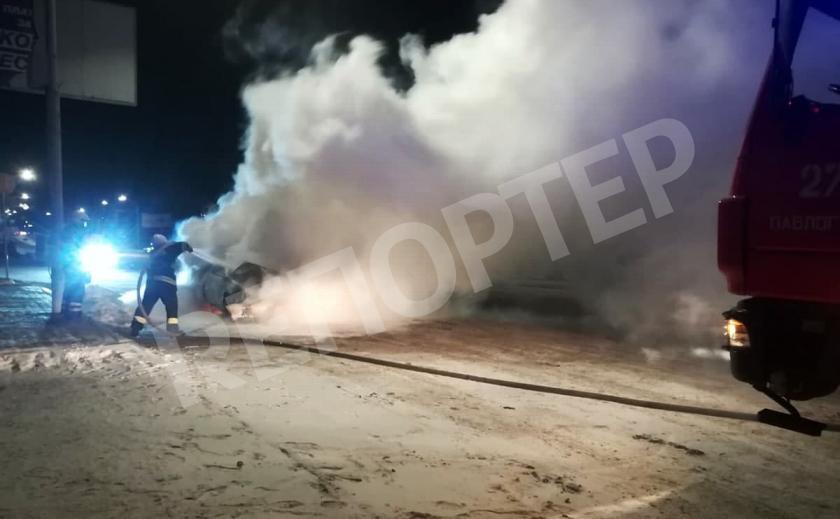В Павлограде сгорел «Opel Kadett», дымило на всю Днепровскую