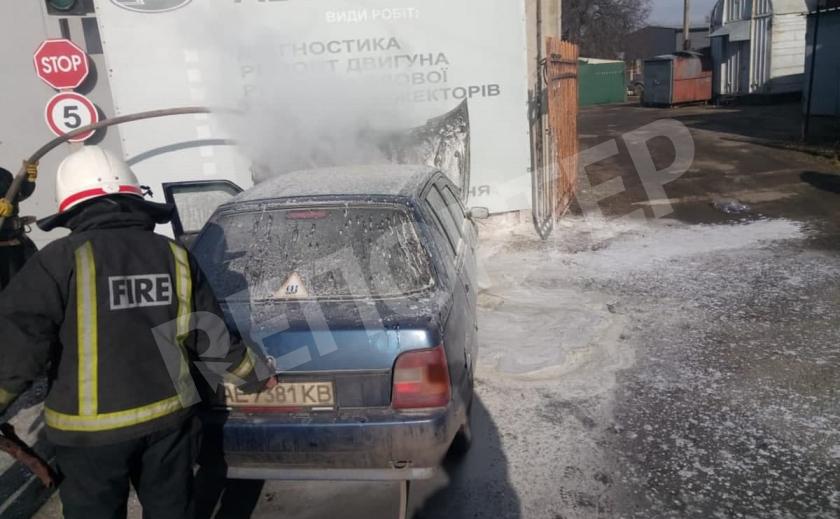 В Павлограде самовоспламенилась «Славута», владелец жив