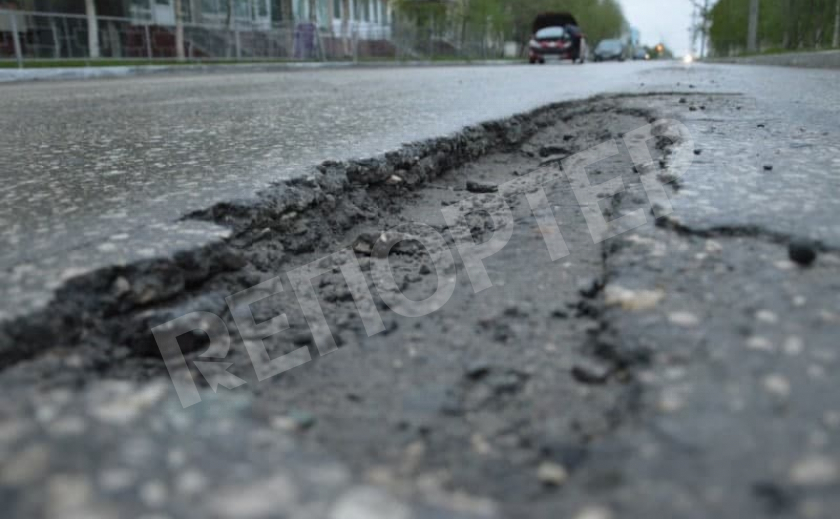 В Павлограде 16 лет не ремонтируют европейскую трассу