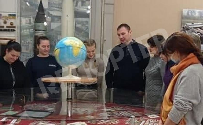 ГРОЗ презентует коллекцию марок в музее Павлограда