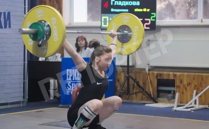 Тяжелоатлеты Днепропетровщины отличились на юниорском чемпионате Украины