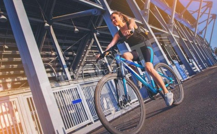 В Павлограде прошёл традиционный велопробег