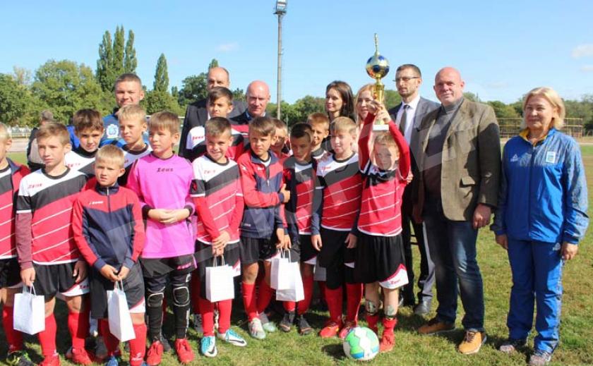 В Павлограде юные футболисты сразились за победу